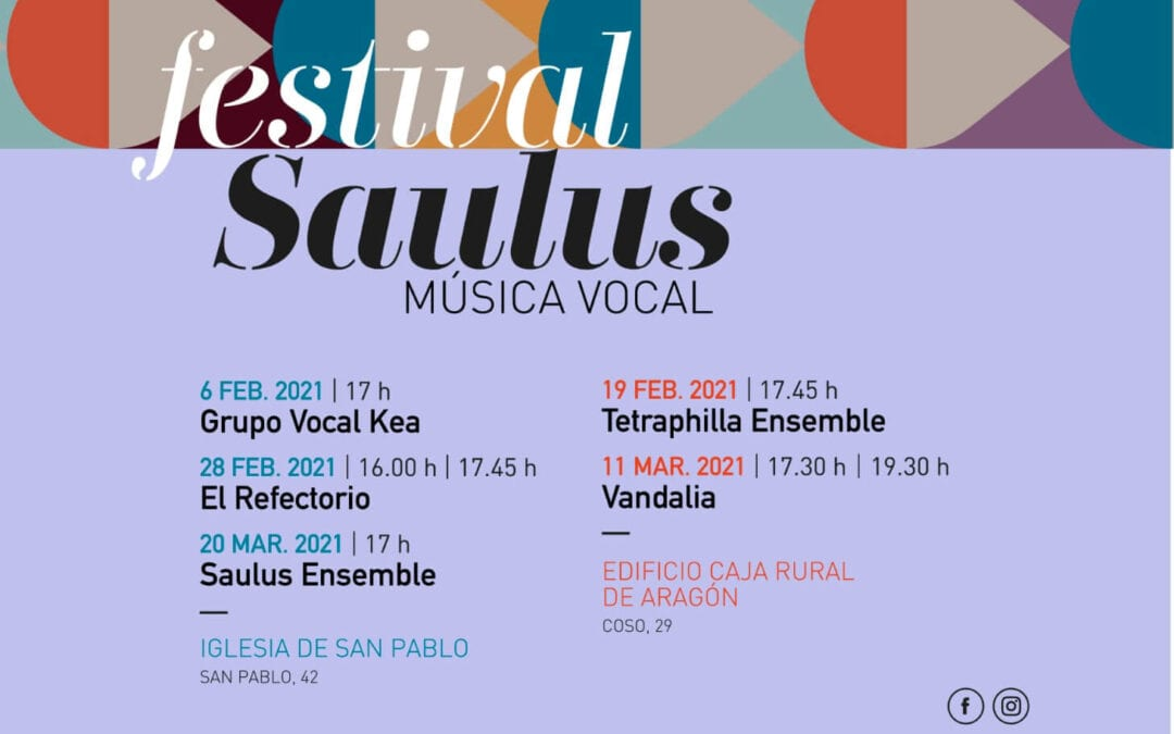 Arranca el Festival Vocal Saulus
